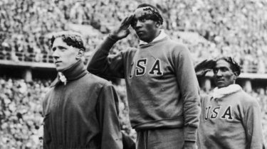 Jesse Owens at the 1936 Olympic Games