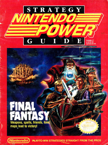 NP017 Final Fantasy Nintendo Power Cover